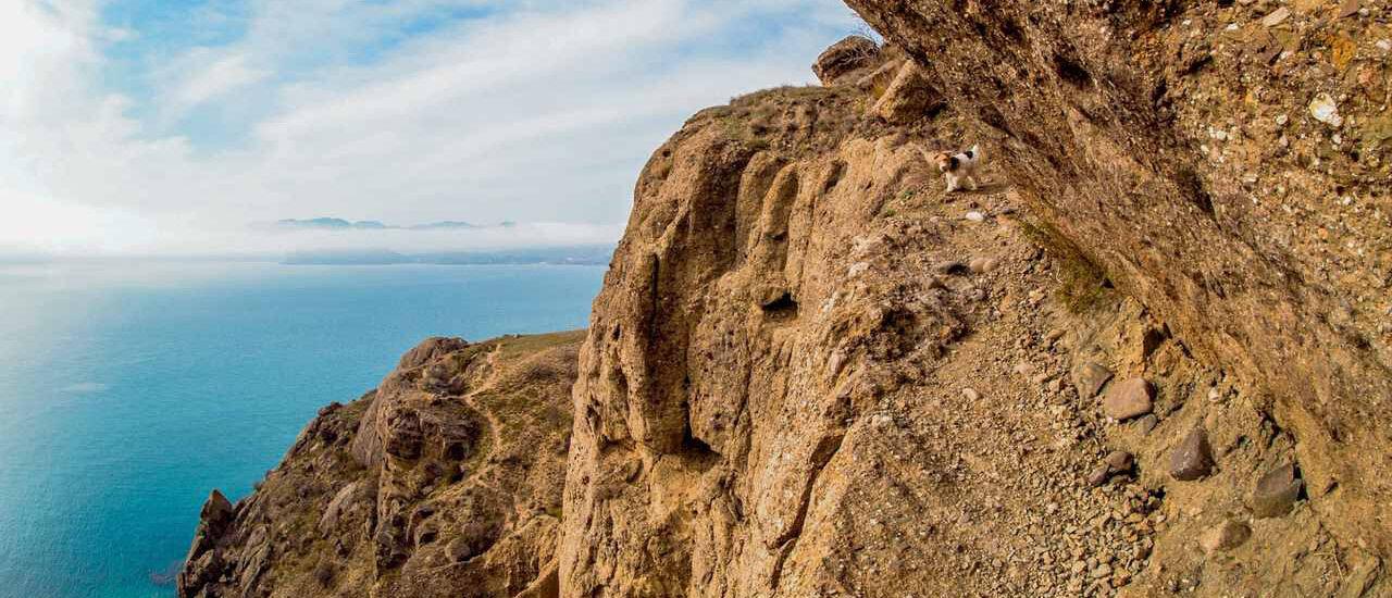 Горы и ущелья в Судаке