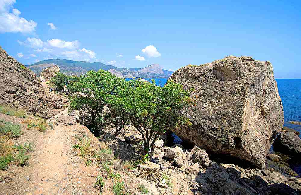 Гора Алчак-Кая